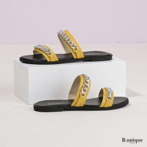 דגם אנאבל: כפכפים בצבע צהוב