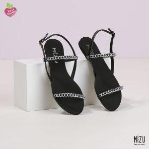 דגם תמי: סנדלים בצבע שחור
