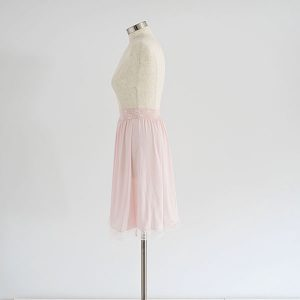 חצאית קומבניזון ורוד