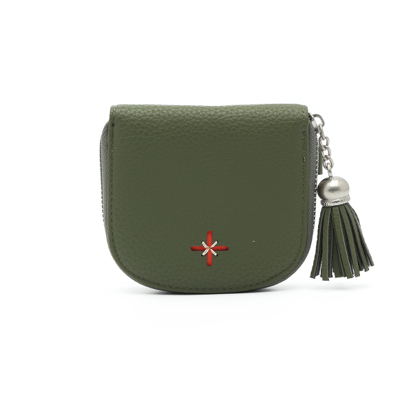 דגם יוקו: ארנק לנשים בצבע ירוק