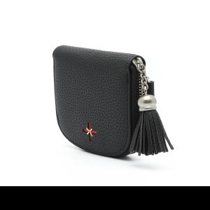 דגם יוקו: ארנק לנשים בצבע שחור
