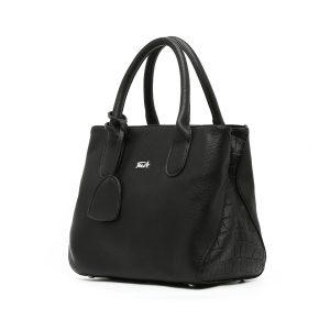 דגם בקי קטן: תיק צד לנשים בצבע שחור