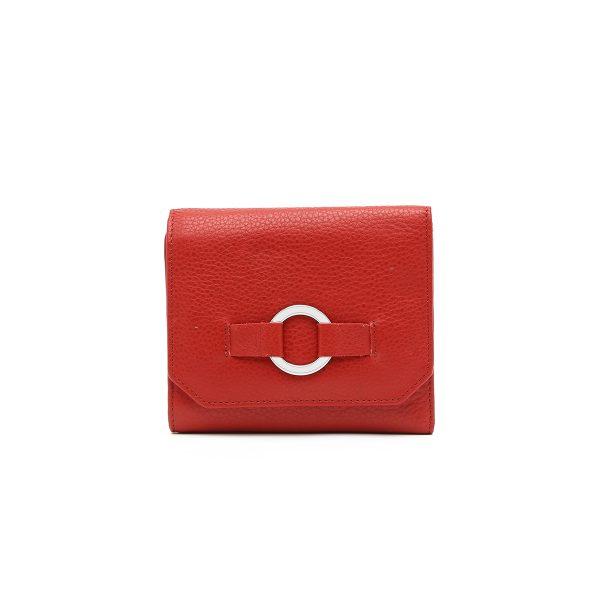 דגם פרסיליה: ארנק נשים בצבע אדום