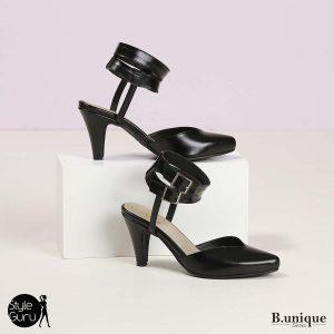 דגם איילת: נעלי עקב בצבע שחור