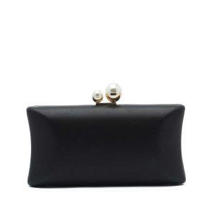 דגם סוזאן: תיק קלאץ' בצבע שחור