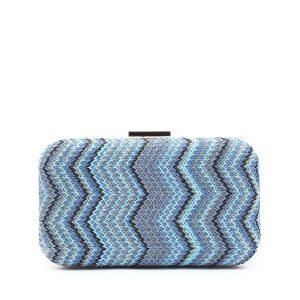 דגם רנה: תיק קלאץ' בצבע כחול