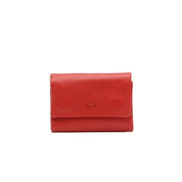 דגם נעמי: ארנק נשים בצבע אדום