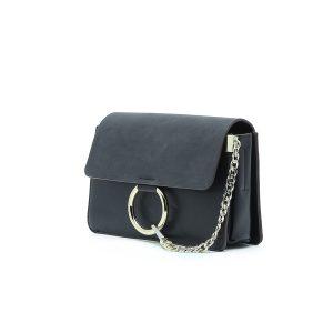 דגם מילי: תיק צד לנשים בצבע שחור