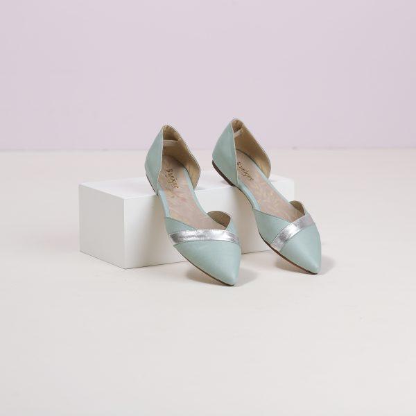 דגם אליסיה: נעליים בצבע מנטה