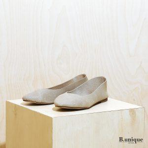 דגם לימסול: נעלי סירה לנשים בצבע טאופ - B.unique