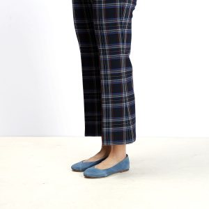 דגם לימסול: נעלי סירה לנשים בצבע ג'ינס - B.unique