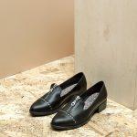 דגם ביל: נעלי אוקספורד לנשים בצבע שחור – B.unique