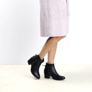 דגם אסיה: מגפוני נשים בצבע שחור – B.unique