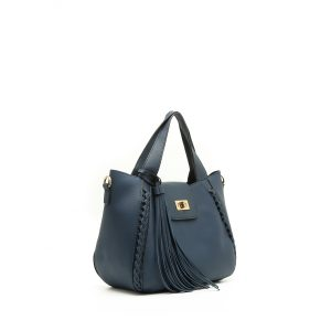 דגם טינה: תיק לנשים בצבע כחול