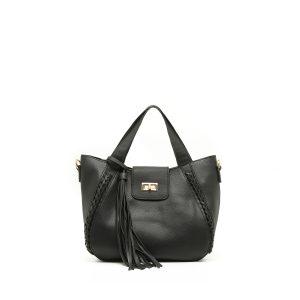 דגם טינה: תיק לנשים בצבע שחור