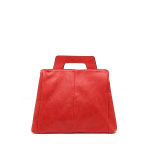 דגם נטע: תיק לנשים בצבע אדום