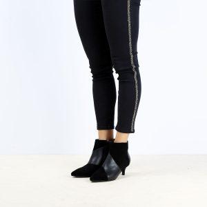 דגם הילטון: מגפונים לנשים בצבע שחור – B.unique