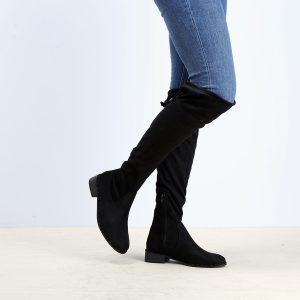 דגם קנזס: מגפיים לנשים בצבע שחור - Rebecca Ashley