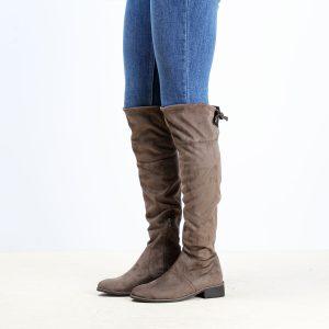 דגם קנזס: מגפיים לנשים בצבע טאופ - Rebecca Ashley