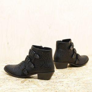 דגם טורינו : מגפונים לנשים בצבע שחור - Rebecca Ashley