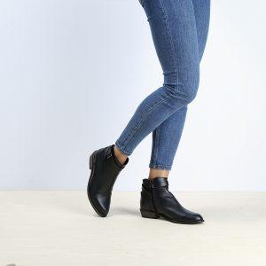 דגם ברוקס: מגפונים לנשים בצבע שחור – B.unique