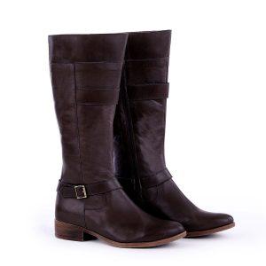 דגם איסלנד: מגפיים לנשים בצבע בורדו – B.unique