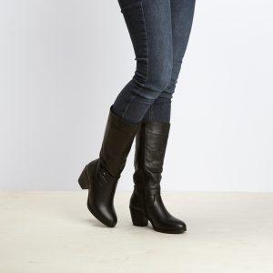דגם ניו אורלינס: מגפיים לנשים בצבע שחור – B.unique