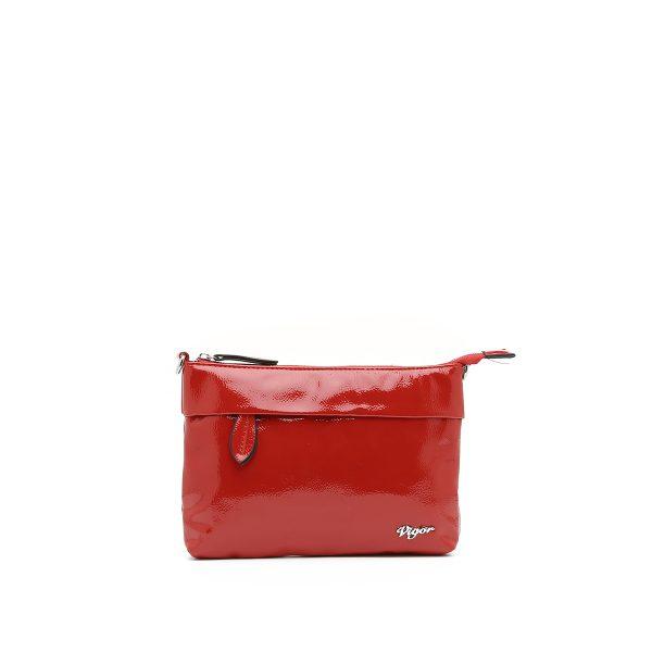 דגם מיני: תיק לנשים בצבע אדום