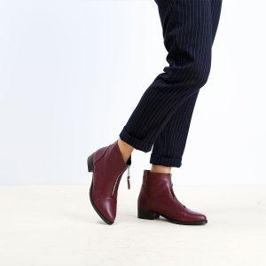 בלעדי לאתר - דגם אשלי: מגפונים לנשים בצבע חציל – B.unique