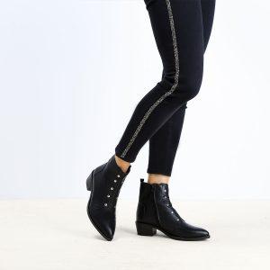 דגם יורק: נעלי נשים בצבע שחור - B.unique