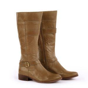 דגם איסלנד: מגפיים לנשים בצבע קאמל – B.unique