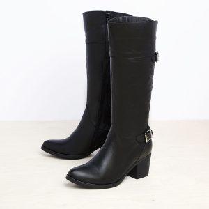 דגם עמליה: מגפיים לנשים בצבע שחור - B.unique
