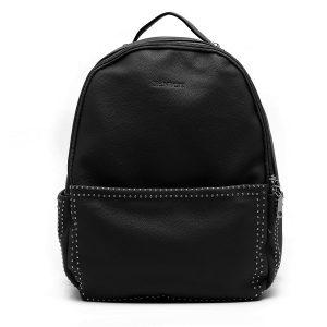 דגם דיאנה: תיק גב לנשים בצבע שחור