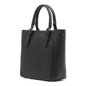 דגם LOVE: תיק צד לנשים בצבע שחור