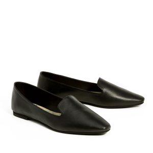 דגם מאיה: נעליים שטוחות בצבע שחור - B.unique