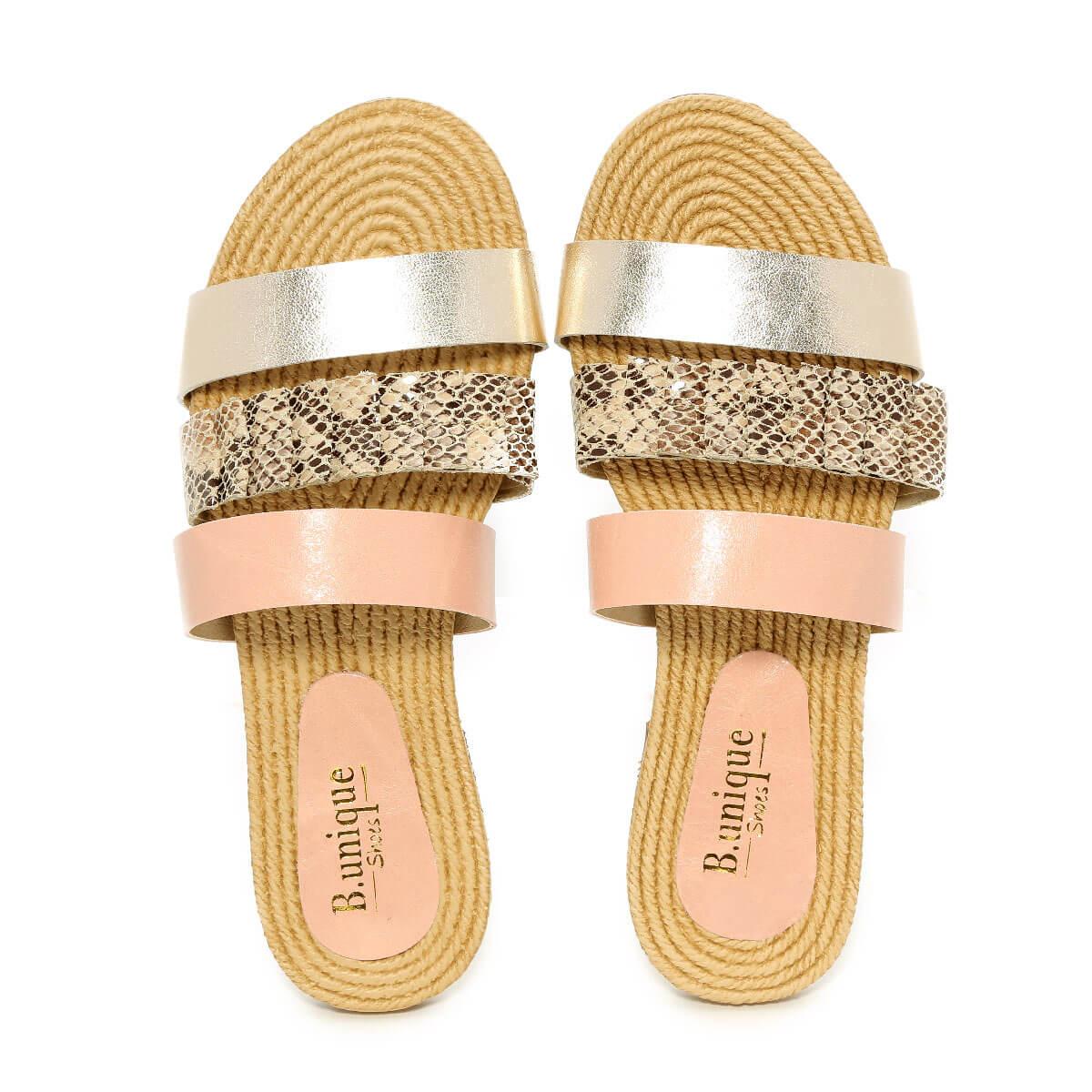 דגם נויה: נעליים בצבע ורוד