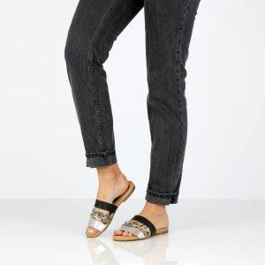 דגם נויה: נעליים בצבע שחור - B.unique
