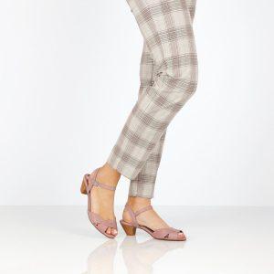 דגם טליה: סנדלי נשים בצבע סגול - B.unique