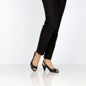 דגם לימור: נעלי עקב בצבע שחור - B.unique