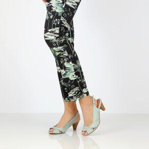 דגם לימור: נעלי עקב בצבע מנטה - B.unique