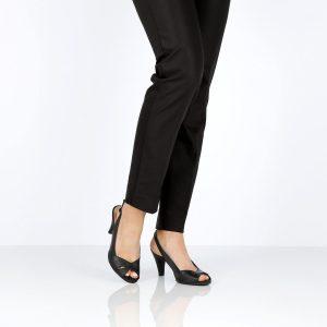 דגם סמדר: נעלי עקב בצבע שחור - B.unique