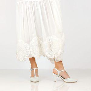 דגם לירון: נעלי עקב בצבע קרח - B.unique