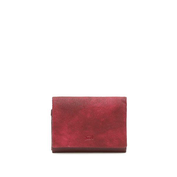 דגם יולי: ארנק לנשים בצבע בורדו