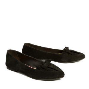 דגם הודיה: נעלי סירה בצבע שחור - B.unique