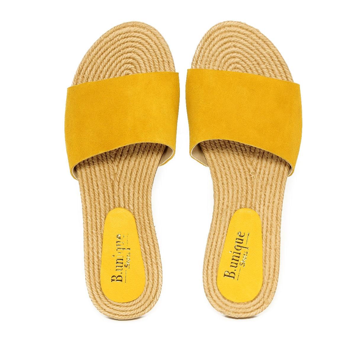דגם ליאת: כפכפים בצבע צהוב
