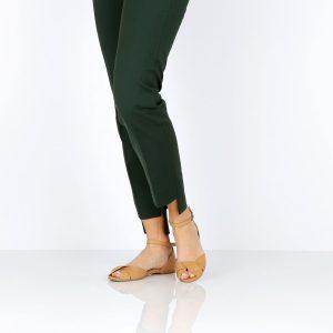 בלעדי לאתר - דגם אליאנה: סנדלים בצבע קאמל - B.unique