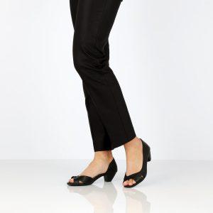 דגם אילנית: סנדלים בצבע שחור - B.unique