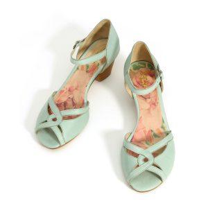 בלעדי לאתר - דגם רויטל: סנדלים בצבע מנטה - B.unique