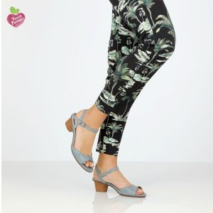 דגם שירלי: סנדלים טבעוניים בצבע ג'ינס - MIZU