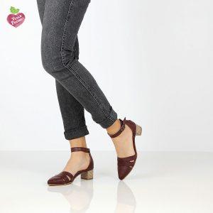דגם קרן: נעליים טבעוניות בצבע סגול - MIZU